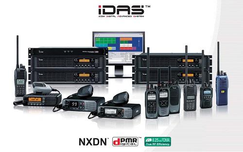 Các dòng sản phẩm bộ đàm Icom